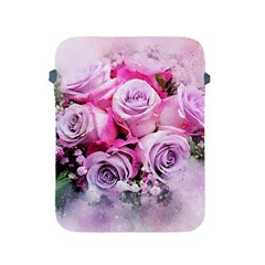 Flowers Roses Bouquet Art Abstract Apple Ipad 2/3/4 Protective Soft Cases