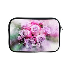Flowers Roses Bouquet Art Abstract Apple Ipad Mini Zipper Cases