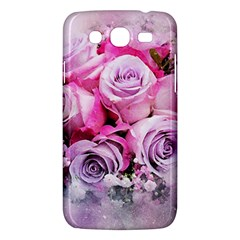 Flowers Roses Bouquet Art Abstract Samsung Galaxy Mega 5 8 I9152 Hardshell Case