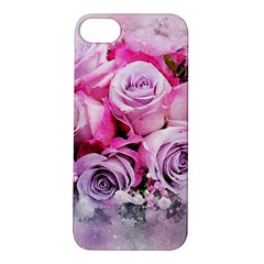 Flowers Roses Bouquet Art Abstract Apple Iphone 5s/ Se Hardshell Case