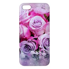 Flowers Roses Bouquet Art Abstract Iphone 5s/ Se Premium Hardshell Case