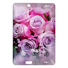 Flowers Roses Bouquet Art Abstract Amazon Kindle Fire Hd (2013) Hardshell Case