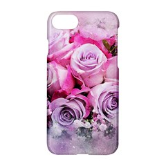 Flowers Roses Bouquet Art Abstract Apple Iphone 8 Hardshell Case