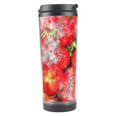 Strawberries Fruit Food Art Travel Tumbler