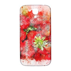 Strawberries Fruit Food Art Samsung Galaxy S4 I9500/i9505  Hardshell Back Case