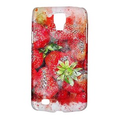 Strawberries Fruit Food Art Galaxy S4 Active