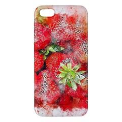 Strawberries Fruit Food Art Iphone 5s/ Se Premium Hardshell Case