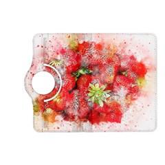 Strawberries Fruit Food Art Kindle Fire Hd (2013) Flip 360 Case