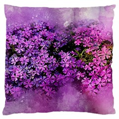 Flowers Spring Art Abstract Nature Large Cushion Case (one Side)