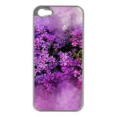 Flowers Spring Art Abstract Nature Apple Iphone 5 Case (silver)