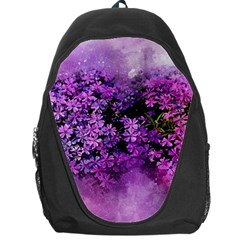 Flowers Spring Art Abstract Nature Backpack Bag