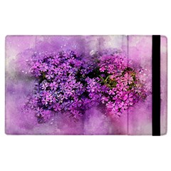 Flowers Spring Art Abstract Nature Apple Ipad 2 Flip Case