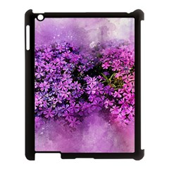 Flowers Spring Art Abstract Nature Apple Ipad 3/4 Case (black)