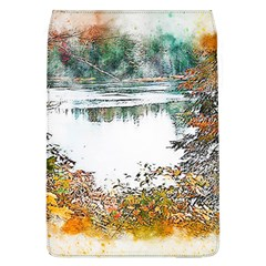 River Water Art Abstract Stones Flap Covers (l)
