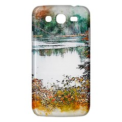River Water Art Abstract Stones Samsung Galaxy Mega 5 8 I9152 Hardshell Case