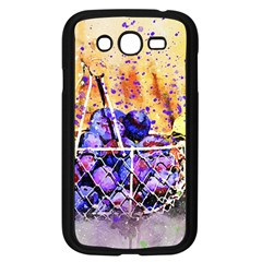 Fruit Plums Art Abstract Nature Samsung Galaxy Grand Duos I9082 Case (black)