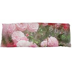 Flowers Roses Art Abstract Nature Body Pillow Case (dakimakura)