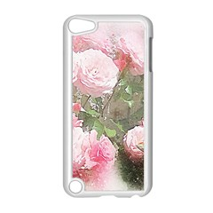 Flowers Roses Art Abstract Nature Apple Ipod Touch 5 Case (white)