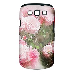 Flowers Roses Art Abstract Nature Samsung Galaxy S Iii Classic Hardshell Case (pc+silicone)