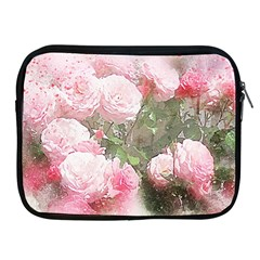 Flowers Roses Art Abstract Nature Apple Ipad 2/3/4 Zipper Cases
