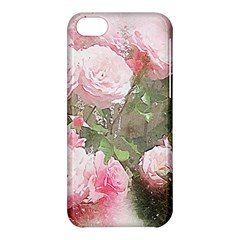 Flowers Roses Art Abstract Nature Apple Iphone 5c Hardshell Case