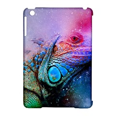 Lizard Reptile Art Abstract Animal Apple Ipad Mini Hardshell Case (compatible With Smart Cover)