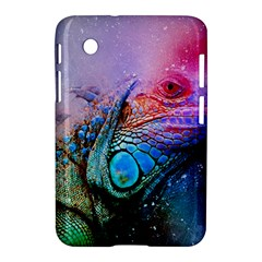 Lizard Reptile Art Abstract Animal Samsung Galaxy Tab 2 (7 ) P3100 Hardshell Case