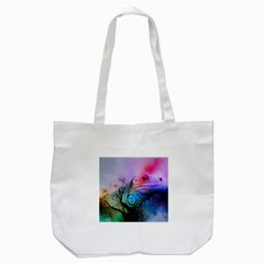 Lizard Reptile Art Abstract Animal Tote Bag (white)