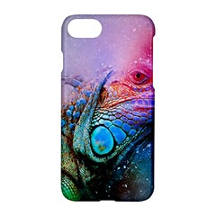 Lizard Reptile Art Abstract Animal Apple Iphone 7 Hardshell Case