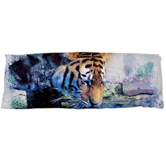 Tiger Drink Animal Art Abstract Body Pillow Case Dakimakura (two Sides)