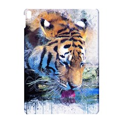 Tiger Drink Animal Art Abstract Apple Ipad Pro 10 5   Hardshell Case