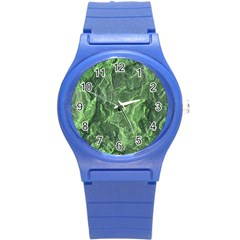 Geological Surface Background Round Plastic Sport Watch (s)