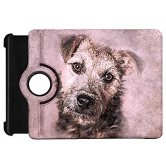 Dog Pet Terrier Art Abstract Kindle Fire Hd 7