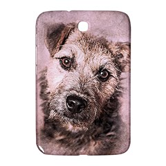 Dog Pet Terrier Art Abstract Samsung Galaxy Note 8 0 N5100 Hardshell Case