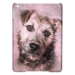 Dog Pet Terrier Art Abstract Ipad Air Hardshell Cases