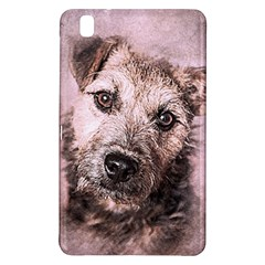 Dog Pet Terrier Art Abstract Samsung Galaxy Tab Pro 8 4 Hardshell Case