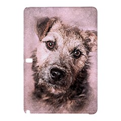 Dog Pet Terrier Art Abstract Samsung Galaxy Tab Pro 12 2 Hardshell Case