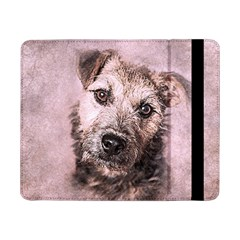 Dog Pet Terrier Art Abstract Samsung Galaxy Tab Pro 8 4  Flip Case