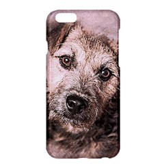 Dog Pet Terrier Art Abstract Apple Iphone 6 Plus/6s Plus Hardshell Case