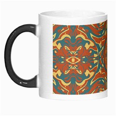 Multicolored Abstract Ornate Pattern Morph Mugs