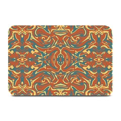 Multicolored Abstract Ornate Pattern Plate Mats