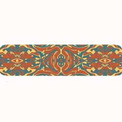 Multicolored Abstract Ornate Pattern Large Bar Mats