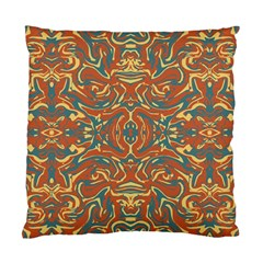 Multicolored Abstract Ornate Pattern Standard Cushion Case (one Side)