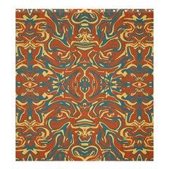 Multicolored Abstract Ornate Pattern Shower Curtain 66  X 72  (large)