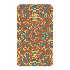Multicolored Abstract Ornate Pattern Memory Card Reader