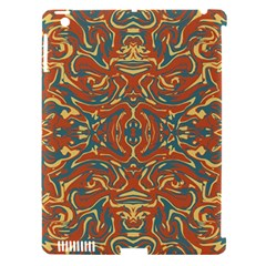 Multicolored Abstract Ornate Pattern Apple Ipad 3/4 Hardshell Case (compatible With Smart Cover)