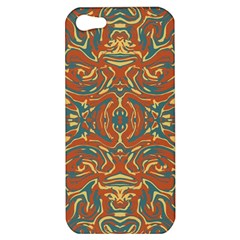 Multicolored Abstract Ornate Pattern Apple Iphone 5 Hardshell Case