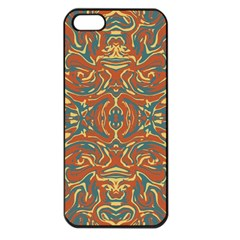 Multicolored Abstract Ornate Pattern Apple Iphone 5 Seamless Case (black)