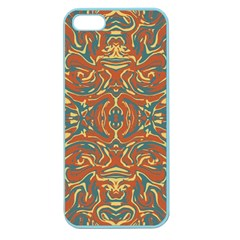 Multicolored Abstract Ornate Pattern Apple Seamless Iphone 5 Case (color)