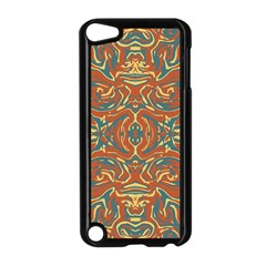 Multicolored Abstract Ornate Pattern Apple Ipod Touch 5 Case (black)
